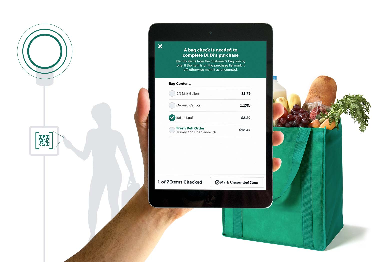 Mobile Checkout technology solutions